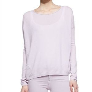 Vince Cashmere Lilac Sweater - Open Knit back